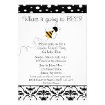 El género de la abeja revela la invitación