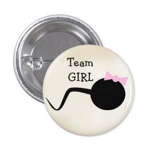 El género divertido del chica del equipo revela el pins