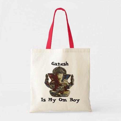 el genesh, Ganesh, es mi muchacho de OM Bolsas De Mano