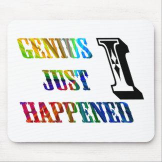 El genio acaba de suceder alfombrillas de raton