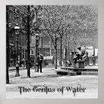 El genio del agua 1906 posters
