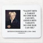 El genio del talento de Schopenhauer golpea Tapete De Raton