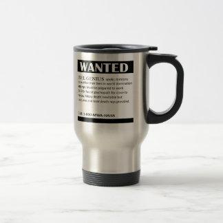 El genio malvado quiso el anuncio taza