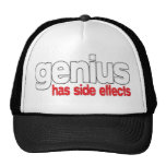El genio tiene efectos secundarios gorro de camionero