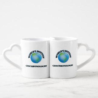El geocronólogo más caliente del mundo tazas para parejas