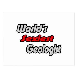 El geólogo más atractivo del mundo tarjetas postales