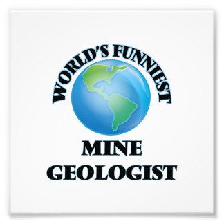 El geólogo más divertido de la mina del mundo foto