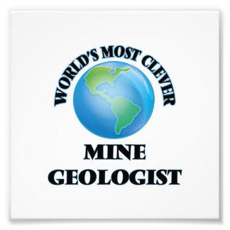 El geólogo más listo de la mina del mundo fotografia