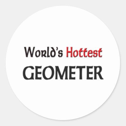 El geómetra más caliente de los mundos etiquetas