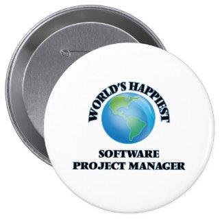 El gestor de proyecto más feliz del software del chapa redonda 10 cm