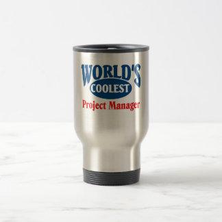 El gestor de proyecto más fresco taza