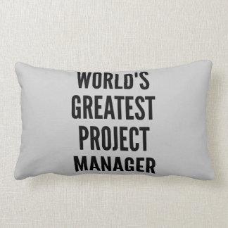 El gestor de proyecto más grande de los mundos almohadas