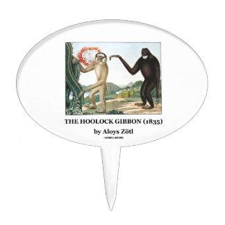 El Gibbon de Hoolock (1835) por Aloys Zotl Decoraciones Para Tartas