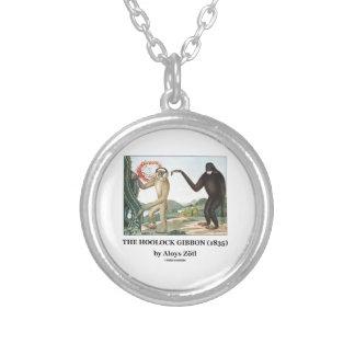 El Gibbon de Hoolock (1835) por Aloys Zotl Pendiente Personalizado