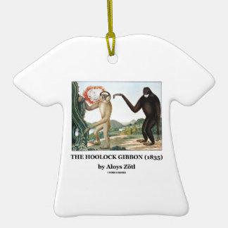 El Gibbon de Hoolock (1835) por Aloys Zotl Ornamento De Navidad