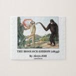 El Gibbon de Hoolock (1835) por Aloys Zotl Rompecabeza