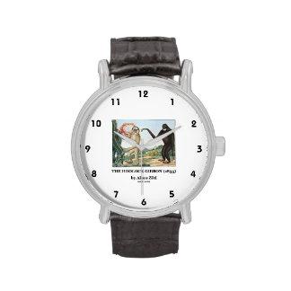 El Gibbon de Hoolock (1835) por Aloys Zotl Relojes De Pulsera
