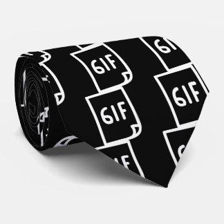 El GIF redacta símbolo Corbata Personalizada