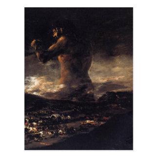 El gigante (o el coloso), por Francisco Goya 180 Tarjetas Postales