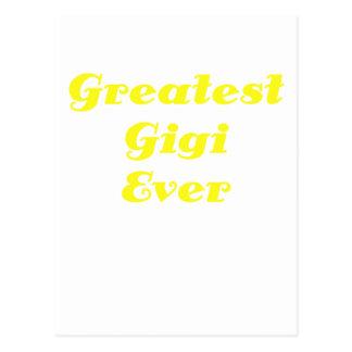 El Gigi más grande nunca Tarjeta Postal