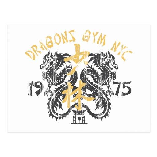 El gimnasio 1975 del dragón postal