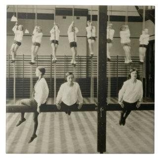 El gimnasio, escuela secundaria de Londres para lo Azulejo Cuadrado Grande
