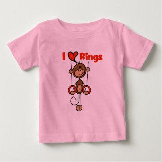 El gimnasta ama las camisetas y los regalos de los playera para bebé