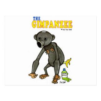 El Gimpanzee Postales
