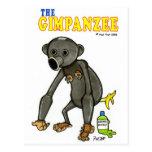 El Gimpanzee Tarjeta Postal