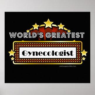 El ginecólogo más grande del mundo póster