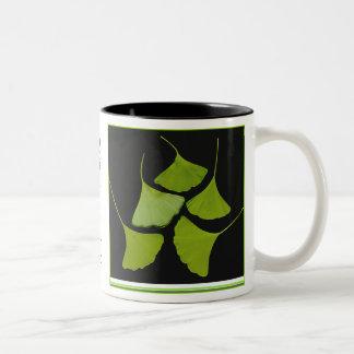El Gingko sale de la taza