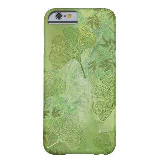 El Ginkgo sale follaje del modelo total los Funda Barely There iPhone 6