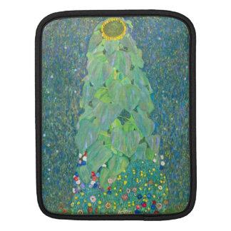 El girasol de Gustavo Klimt Fundas Para iPads