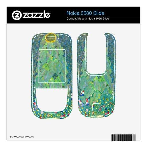 El girasol de Gustavo Klimt Nokia 2680 Slide Skins