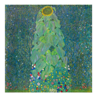 El girasol de Gustavo Klimt Impresiones
