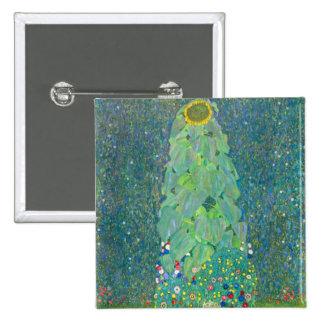 El girasol de Gustavo Klimt Pins