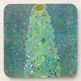 El girasol de Gustavo Klimt Posavasos De Bebida
