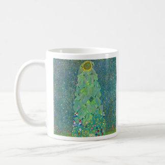El girasol de Gustavo Klimt Taza