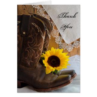 El girasol del país le agradece tarjeta de nota
