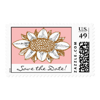 ¡el girasol neopolitan, ahorra la fecha! sellos