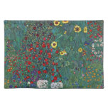 El girasol por Klimt, vintage de Farmergarden w Manteles