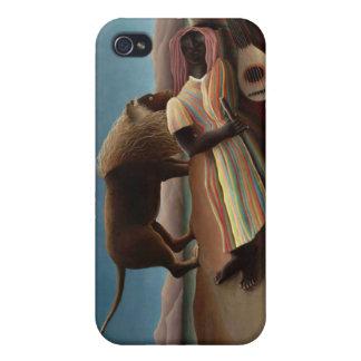 El gitano durmiente, Henri Rousseau iPhone 4 Protector