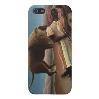 El gitano durmiente, Henri Rousseau iPhone 5 Funda