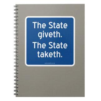 El giveth del estado. El estado taketh. Libros De Apuntes