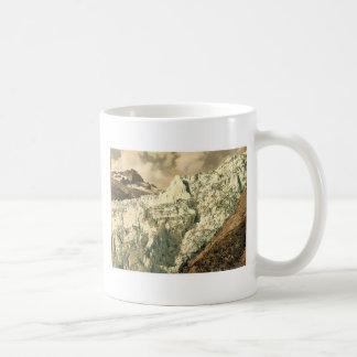 El glaciar de Rhone, Valais, montañas de, cl de Su Taza De Café