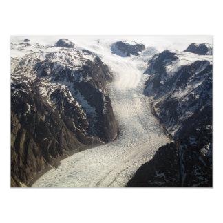 El glaciar de Sondrestrom en Groenlandia Cojinete