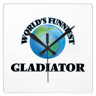 El gladiador más divertido del mundo reloj