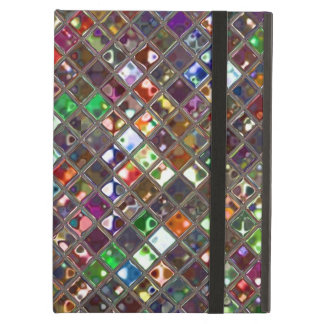 El Glitz teja la caja multicolora del iPad de Powi