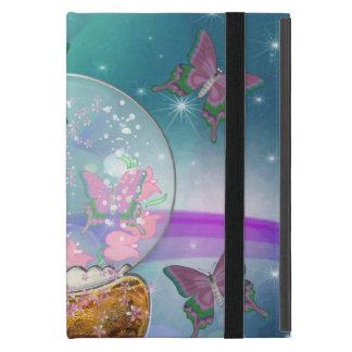 El globo de la mariposa iPad mini cárcasas