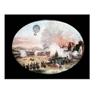 El globo de observación francés, postales